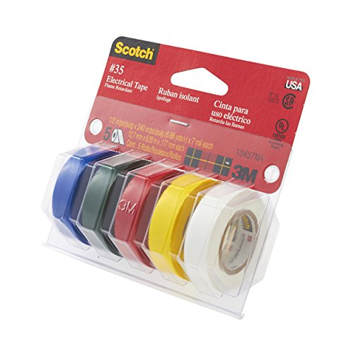 3M Scotch #35 Electrical Tape Value Pack (10457NA) by 3M