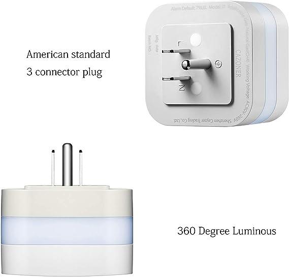AirRadio UKPlug Gas Alarm Detector LPG Natural Gas Coal Dector Sensor 70dB Alarm