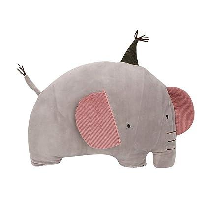 Tnfeeon Elefante Animales de Peluche Súper Suave Felpa ...