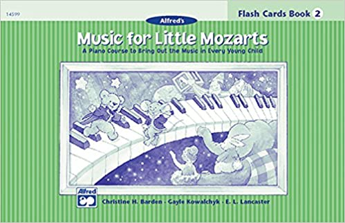 Level 2 Music For Little Mozarts Flash Cards: A Piano Course to Bring Out the Music in Every Young Child Level 2 Flash Cards: A Piano Course to Bring Out the Music in Every Young Child Flash Cards