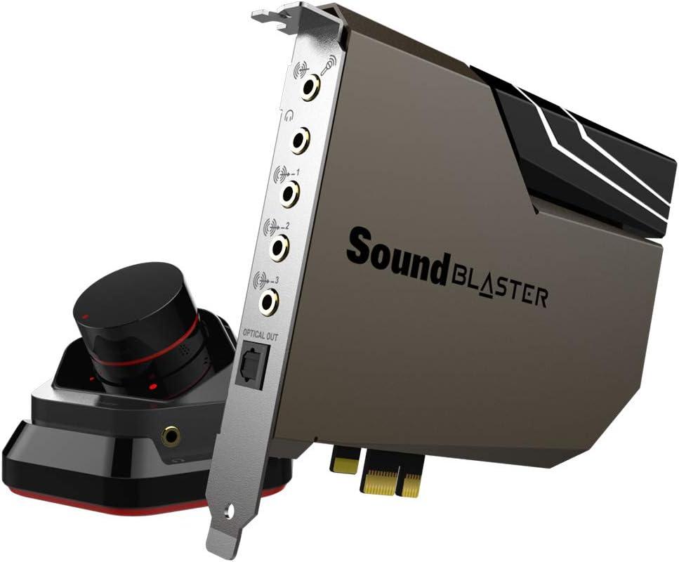 Amazon.com: Sound BlasterX AE-5 - Tarjeta de sonido para ...