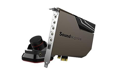 SOUND BLASTER AE-7 - Hi-Res PCI-E DAC and AMP Sound Card with Xamp Discrete Headphone Bi-Amp and Audio Control Module