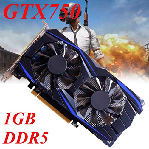 Cywulin GTX750 1GB GDDR5 128bit VGA DVI HDMI Gaming Graphics Cards for Desktop, PC, Computer by Colorful Products (Image #4)
