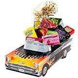 Great Gifts Baskets Hot Rod: Sweet Retro Candy, Car Cookies Packed '57 Chevy Classic Cruiser
