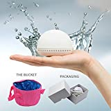 Portable Mini Ultrasonic Laundry Machines Travel Pocket Washer With Folding Water Bucket for Small Clothes Vegetable Underwear Jewelry,Easy to Use for Home Backpacking Car Travel Hiking Camping