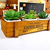 Vintage Wooden Boxes Crates Flower Vintage Wooden Trug Storage Wooden Crate Home Storage Boxes Pot Kitchen Trinket Desktop Storage Case Extraordinary