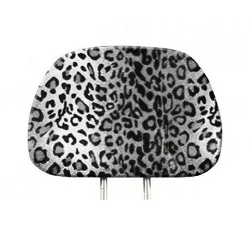 headrest covers leopard - 4