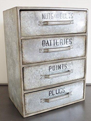 Pequeño gabinete de almacenamiento de garaje INDUSTRIAL ...