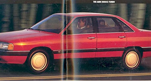 Amazon.com: 1987 Audi 5000 Prestige Sales Brochure: Entertainment Collectibles
