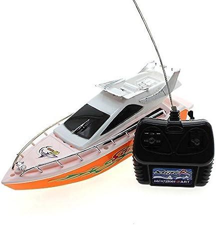 Arpoador Mini motoscafo telecomandato, giocattolo di colore casuale