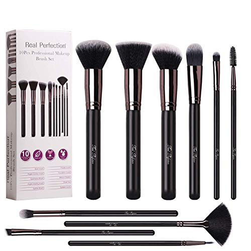 10Pcs Makeup Brush Professional Brushes