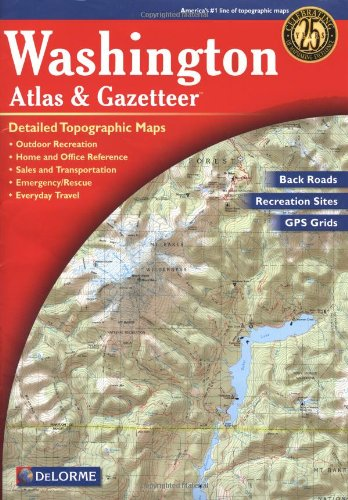 Garmin AA 000033 000 Washington Atlas Gazetteer