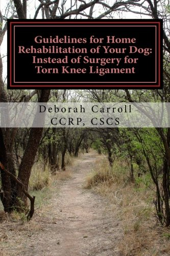 Guidelines Home Rehabilitation Your Dog