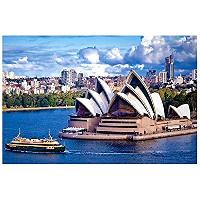 Ghazzi 1000 Piece Jigsaw Puzzles for Adults and Families Kids Children Toddlers Puzzles Adults Jigsaw Puzzle Intellective Educational Jigsaw Puzzle Toys Games 8: Toys & Games