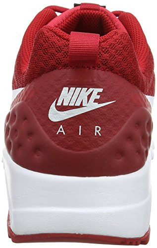 Nike Hommes Air Max Mouvement Bas Cross Trainer Gym Rouge Blanc