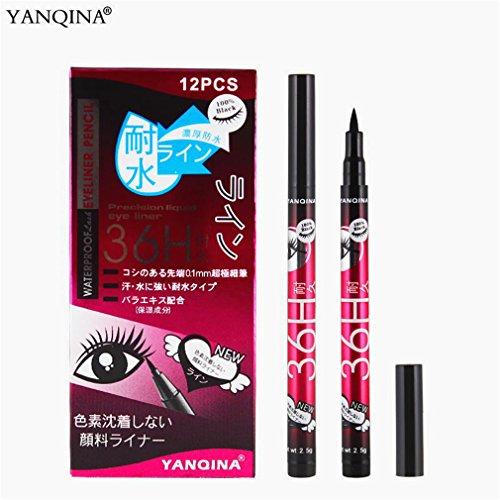Tmrow Eyeliner Waterproof Liquid Eyeliner Eye Liner Gel Black Makeup Cosmetic Black Pink Liquid Eye Liner Pencil Make Up Tool