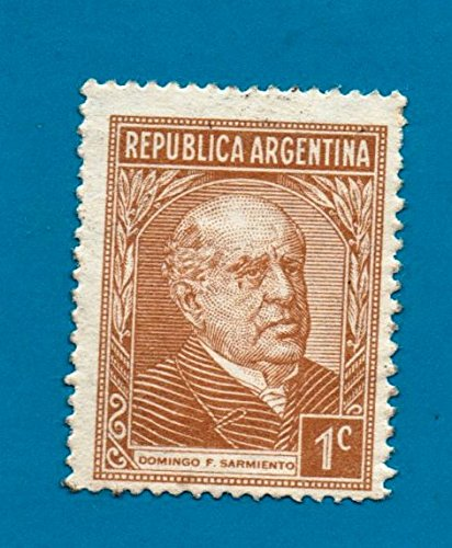 Amazon Mint Argentina Postage Stamp 1935 1cent Domingo Sarmiento Scott Cat 419 Everything Else