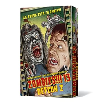 Zombies 13 Defcon Z Juego De Mesa Edge Entertainment Edgtc13