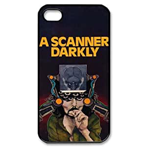 HXYHTY Design Case of A Scanner Darkly Phone Case For Iphone 4/4s [Pattern-6]