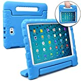 Samsung Galaxy Tab A 10.1 case for kids with S-Pen [SHOCK PROOF KIDS TAB 10.1 CASE] COOPER DYNAMO Kidproof Child Tab A 10.1 inch Cover for Boys, Toddlers   Kid Friendly Handle & Stand, Light (Blue)