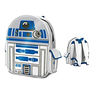 Star Wars 'R2D2' PVC Front School Travel Backpack