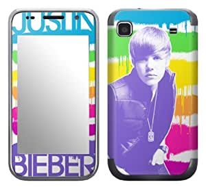 MusicSkins, MS-JB200275, Justin Bieber - Painted, Samsung Galaxy S 4G (SGH-T959V), Skin