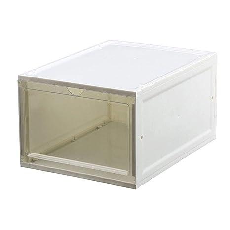 Leobtain Cajas Transparentes de Almacenamiento para Botas ...
