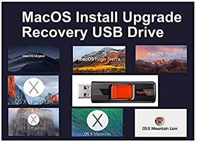 7 Mac OSX USB Mojave High Sierra El Capitan Yosemite Mavericks Mountain Lion