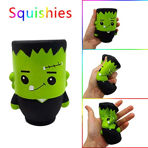 AckfulHalloween Wizard Doll Scented Squishies Slow Rising Kids Toys Stress Relief Toy