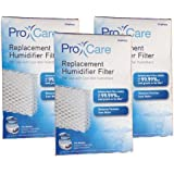 Kaz Pro Care Replacement Humidifier Filter for Use With Cool Mist Humidifiers, 3 Packs
