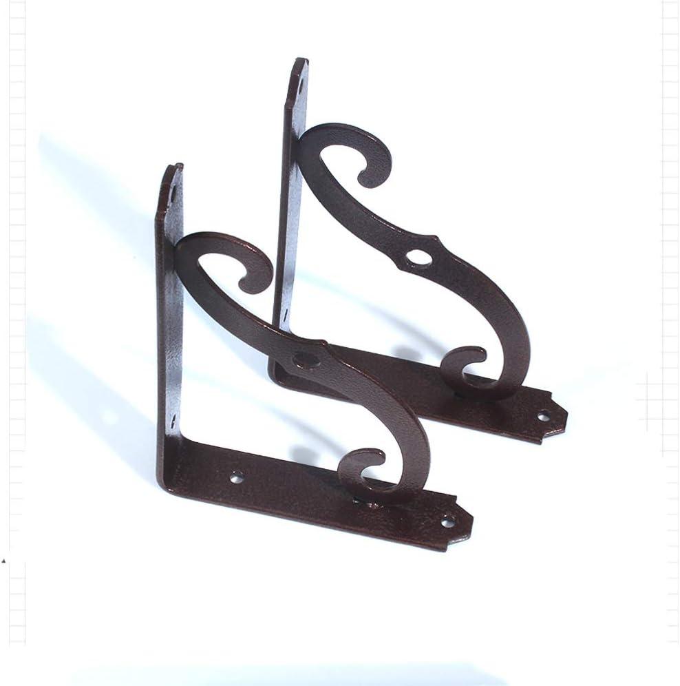 support shelf lzpq Soporte de Estante Ornamental para Estante Flotante de exhibici/ón de Almacenamiento lat/ón Antiguo Estilo Colonial