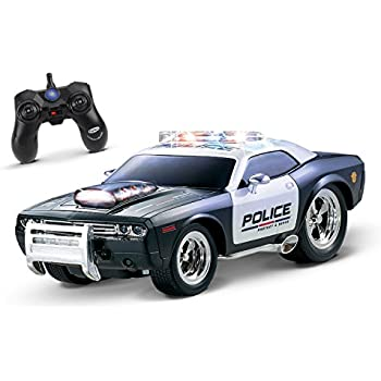 this item kidirace rc remote control police car for kids rechargeable durable and easy to control