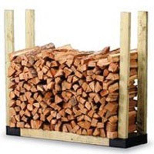 - New Hy-c Slrk Heavy Duty Steel Adjustable Fire Wood Log Rack Bracket Kit 6387922