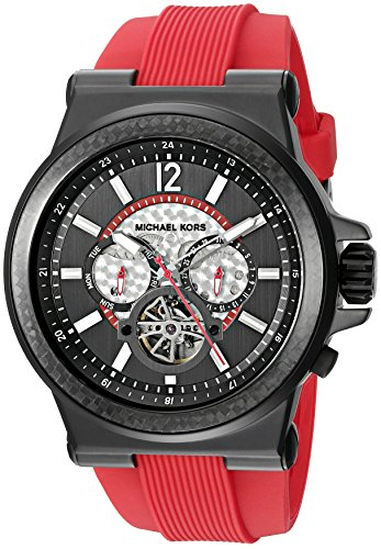 Michael Kors Men's Dylan Red Watch - Michael For Him Kors