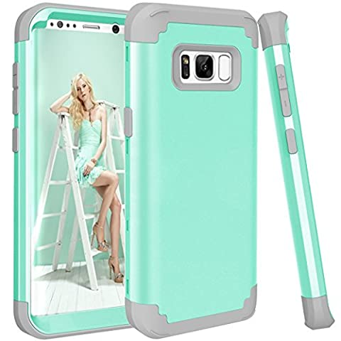 Galaxy S8 Plus Case, GPROVA Three Layer Hybrid Soft Silicone and PC Hard Case, Heavy Duty Rugged Bumper Case 360 Degree All-around Full Drop-protective for Samsung Galaxy S8 Plus (Galaxy Speck 5s Case)