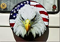 Eagle #6 Tire Cover for Jeep RV and more (all sizes available)