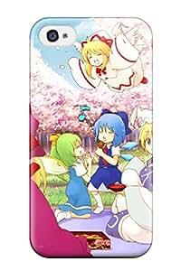 AMANDA A BRYANT's Shop Best 2548442K262564988 anime girl face original Anime Pop Culture Hard Plastic iPhone 4/4s cases