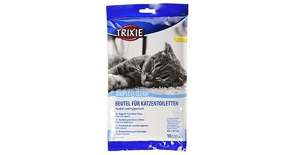 Amazon.com: Trixie bandeja para arena de gato bolsas, 46 ...