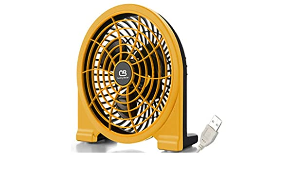 BBQBQ Ventiladores USB USB Fan Mini Mute Escritorio Escritorio ...