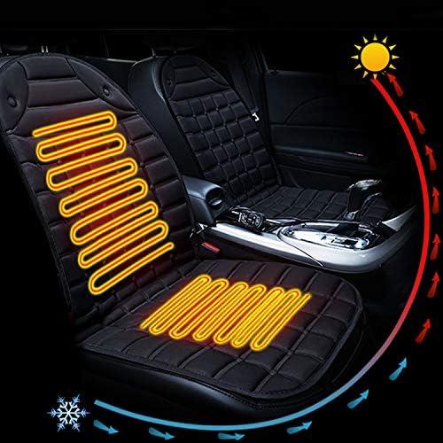 Scaldino Invernale 12V Double Seat Sedile Riscaldato Coprisedile Riscaldato con Termostato Alto Basso modalit/à Nero Vococal Sedili Riscaldati