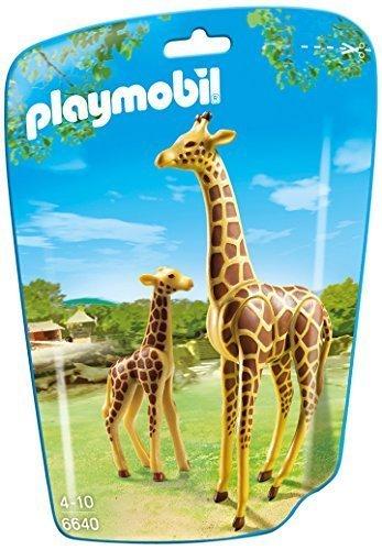 PLAYMOBIL Giraffe with Calf Building Kit by PLAYMOBILÃ'®