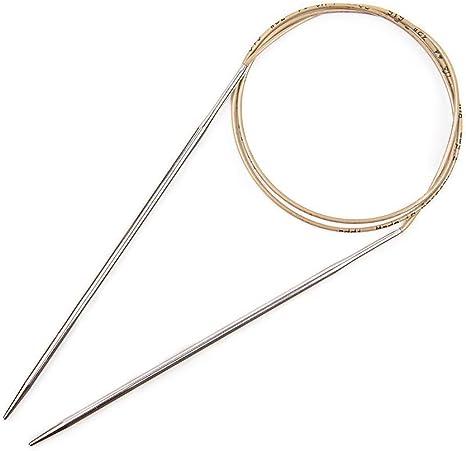 60cm 4.0mm addi Knitting Needle Circular Turbo Rocket Lace Skacel Exclusive Blue Cord 24 inch Size US 06