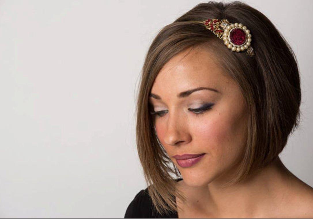 Bridal Tiara - Medieval Renaissance - Vintage Jewelry Collection Headband - Wedding Tiara - Rhinestone Headpiece- Royal Antique