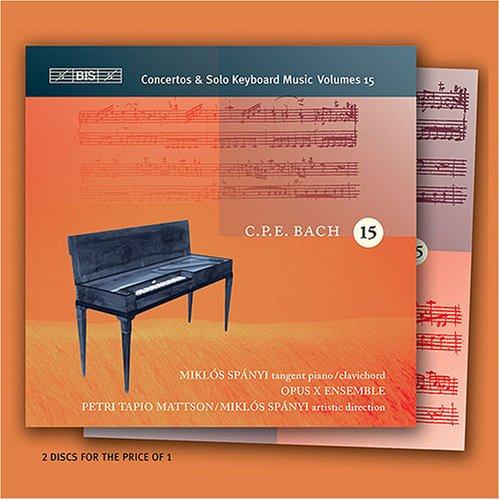 Opus - C.p.e. Bach: Concertos & Solo Keyboard Music, Vol. 15 - Zortam Music