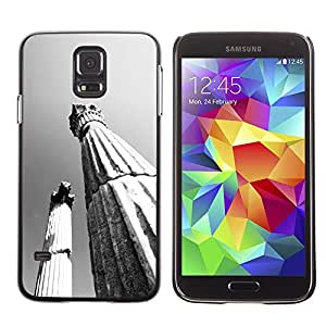 LECELL -- Funda protectora / Cubierta / Piel For Samsung Galaxy S5 SM-G900 -- Architecture Ancient Rome Pillars --