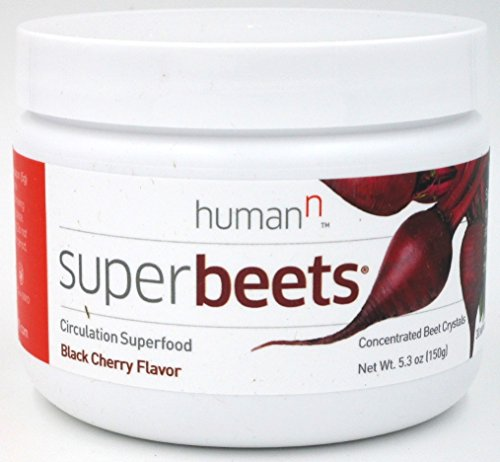 Super Beets Nitric Oxide Booster Non-GMO - Black Cherry Flavor 5.3oz (30 servings)