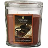Colonial Candle Tibetan Sandalwood 22 oz Scented  Oval Jar Candle
