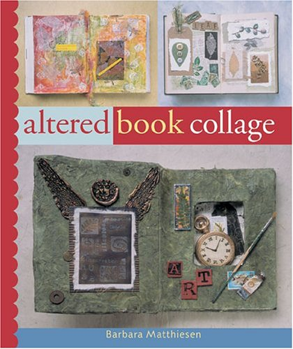 Altered Book Journal - Altered Book Collage