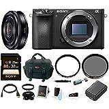 Sony a6500 Mirrorless Camera w/ 20mm Lens + 32GB Accessory Bundle
