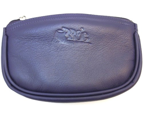 Sheep Napa Leather Tobacco Pouch with Rubber Lining to Preserve Freshness (Leather Sheep Napa)